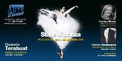 Stage di danza con Elisabetta Terabust Pescara 2016