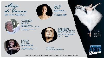 Stage danza Sofina, Comi, Mucci, Monteverde